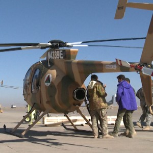 MD Helicopters delivers last three MD530F to Afghan Air Force