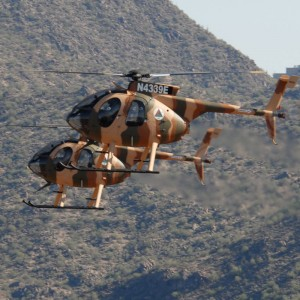 MD Helicopters delivers last Afghan MD530Fs
