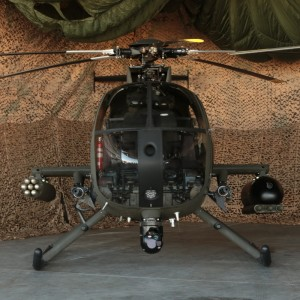 MD Helicopters displays MD530G at LIMA