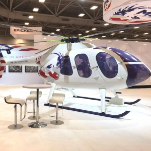 MD takes MD6XX concept helicopter to ALEA Convention