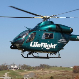 MD Helicopters and Allegheny LifeFlight at AMTC 2010