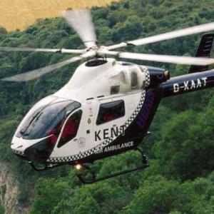 UK: New helipad opens at Tunbridge Wells Hospital