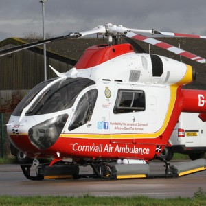 Cornwall Air Ambulance make milestone 26,000th rescue