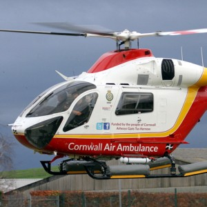Cornwall Air Ambulance flies 670 missions with two MD902s in 2017