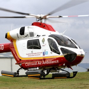 Cornwall Air Ambulance wins Investing in Volunteers award