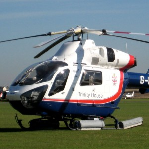 Trinity House marks first anniversary of using MD902 for lighthouse support