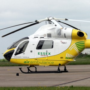 Essex & Herts Air Ambulance paramedic receives award