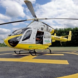 Essex Herts Air Ambulance takes expertise to Denmark