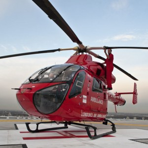 London's Air Ambulance providing advanced care for the Olympics