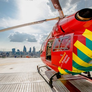 London's Air Ambulance PRU shortlisted for award