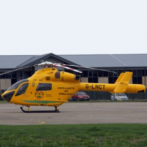 Busiest Day in the Year for Lincolnshire and Nottingham Air Ambulance