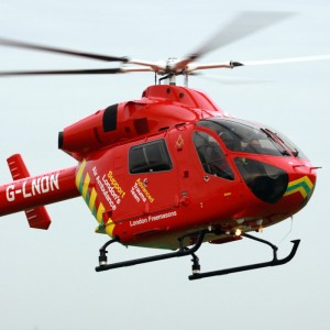 Second Explorer for London's Air Ambulance now test flying