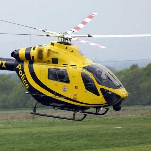 Latest police role equipped MD Explorer at Helitech