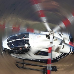 Leeds man in court after laser light shone on police helicopter