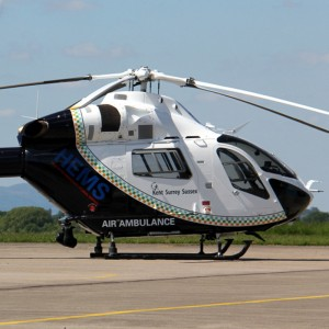 Kent, Surrey & Sussex Air Ambulance gear up for night flying