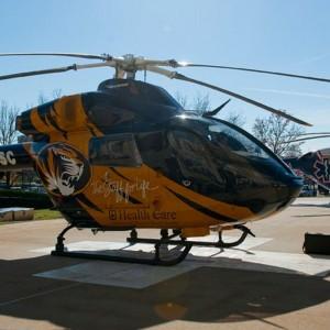 Univ Missouri celebrates 35 years of EMS helicopter