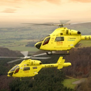 Yorkshire Air Ambulance MD902 AOG for 7 months