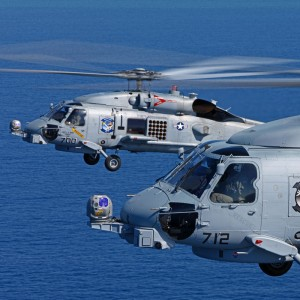 Three new CAE-built MH-60R tactical operational flight trainers enter service for US Navy