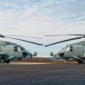 Royal Australian Navy accepts first two MH-60Rs