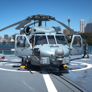 All-female MH-60R flight crew takes to skies