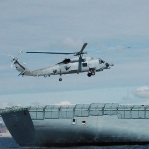 Denmark celebrates arrival of first three MH-60R Seahawks