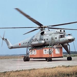 Serial produced Mi-10 marks 50th anniversary of maiden flight