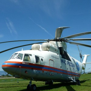 Russian firefighting helicopters help across Europe