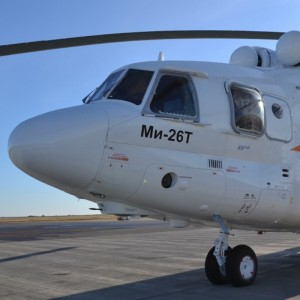 The deliveries of upgraded Mi-26T2 helicopters will be started in 2015