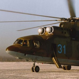 Emergency Services Ministry lends Mi-26 for a film