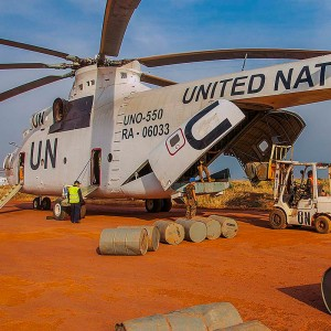 Mi-26T helicopter offers vital support to UN humanitarian efforts in South Sudan