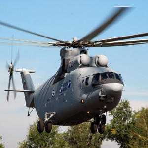 Modernized Mi-26T2V takes its first flight