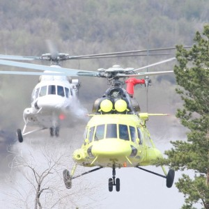 Chinese helicopter pilots take training in Ulan-Ude Aviation plant