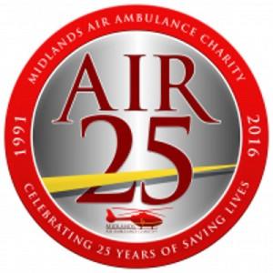 Midlands Air Ambulance celebrates 25 years
