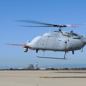 Northrop Grumman and US Navy Complete First Flight of MQ-8C Fire Scout