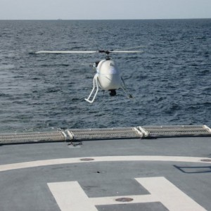 Successful Unmanned Helicopter Test Flights from German Police Ship
