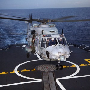 Construction well under way of French NH90 base at Lanvéoc