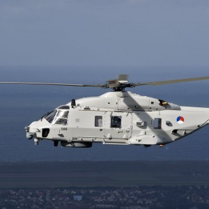 Dutch military receives first maritime NH-90