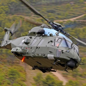 First flight of Belgian NH90 TTH