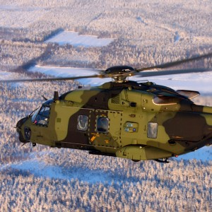 Finnish Army NH90 Multi-Role Training Device Ready for Training