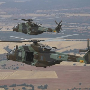 Spanish Army receives first two NH90