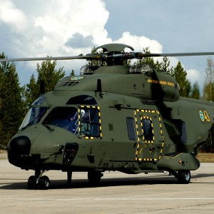 Skanska builds military helicopter hangar in Sweden