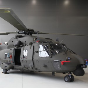Italian Army Takes Delivery of Its First NH90 TTH
