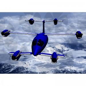 """Oliver VTOL announces the """"Hexplane"""""""