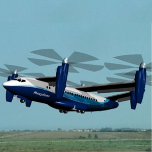 "Oliver VTOL announces commercial version of the ""Hexplane"""
