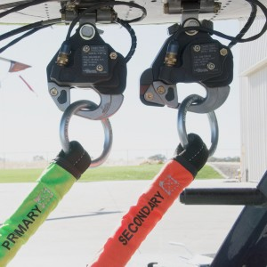 MD500 Dual Cargo Hook kit with Y-Rope from Onboard Systems
