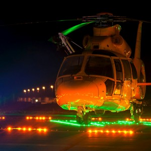 Skyquest awarded landing pad lights contract