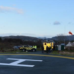 Helipad opens on Skye in Scotland