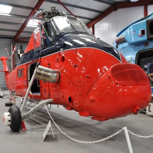 The Helicopter Museum gives special access to Royal helicopter