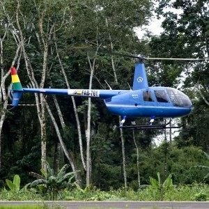 Bolivian Air Force takes delivery of first two of six R44s