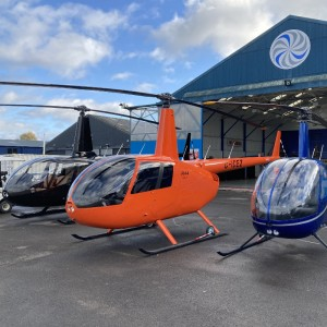 R44 Cadet Enters Service with ICE Helicopters